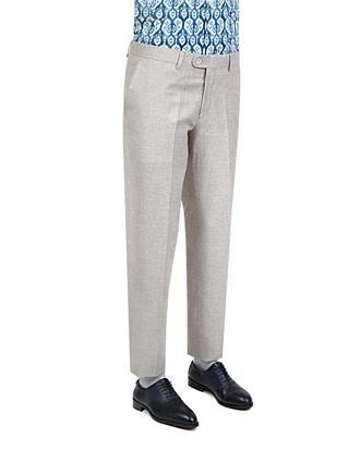 Ds Damat Slim Fit Bej Kumaş Pantolon - 8681779318217 | D'S Damat