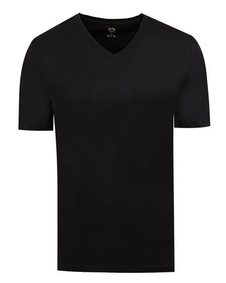 Ds Damat Regular Fit Siyah T-shirt - 8681778947623 | D'S Damat