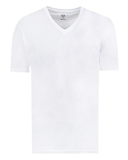Ds Damat Regular Fit Beyaz T-shirt - 8681778947654 | D'S Damat