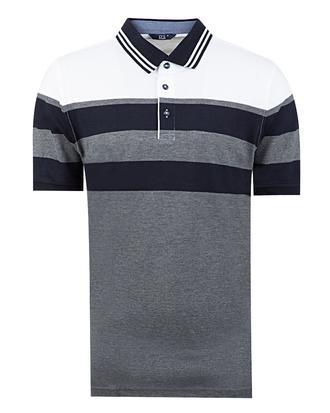 Ds Damat Regular Fit Gri T-shirt - 8681779320524 | D'S Damat