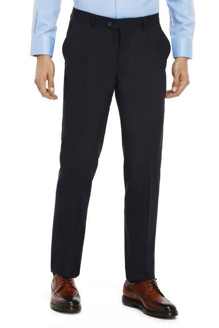 Ds Damat Comfort Lacivert Düz Kumaş Pantolon - 8681779949602 | D'S Damat
