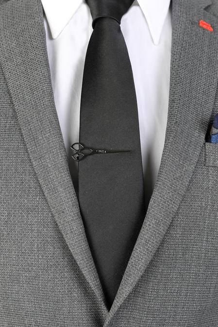 Ds Damat Siyah Kravat İğnesi - 8681778977910 | D'S Damat