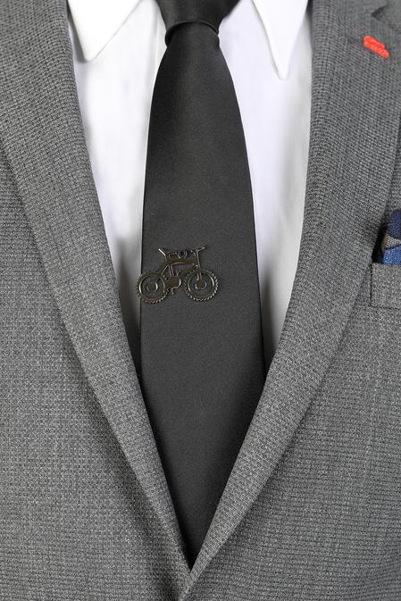 Ds Damat Gümüş Kravat İğnesi - 8681778977965 | D'S Damat
