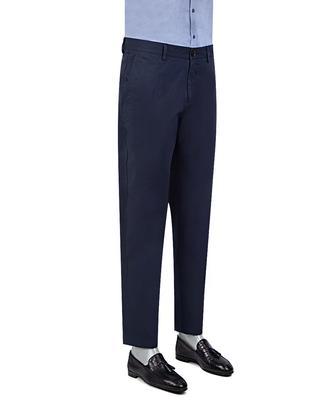 Twn Slim Fit Lacivert Dokulu Chino Pantolon - 8682060013170 | D'S Damat