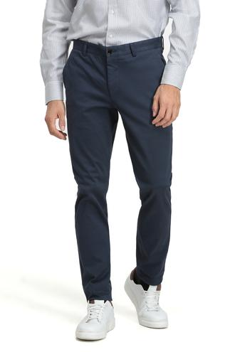 Twn Slim Fit Lacivert Düz Chino Pantolon - 8682060013880 | D'S Damat