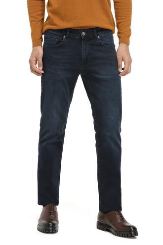 Twn Super Slim Fit Lacivert Taşlı Denım Pantolon - 8681779670292 | D'S Damat