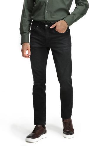 Twn Super Slim Fit Antrasit Düz Denım Pantolon - 8681779670599 | D'S Damat