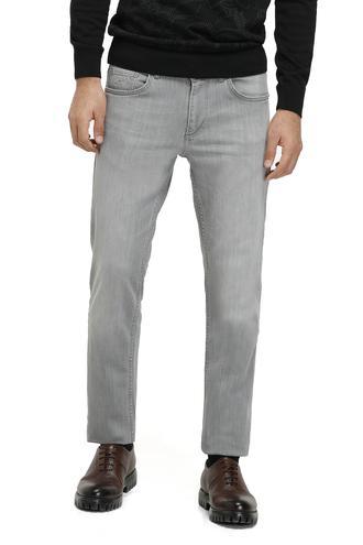 Twn Super Slim Fit Gri Taşlı Denım Pantolon - 8681779380146 | D'S Damat