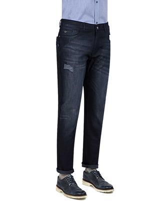 Twn Slim Fit Lacivert Taşlı Denım Pantolon - 8681779520825 | D'S Damat