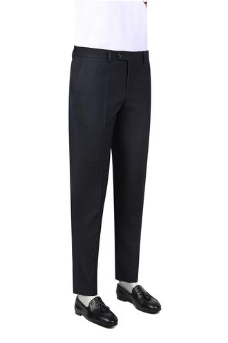 Twn Slim Fit Lacivert Çizgili Kumaş Pantolon - 8681779724124 | D'S Damat