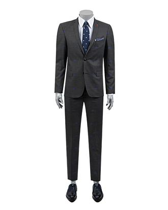 Twn Süper Slim Fit Slim Fit Antrasit Takim Elbise - 8681778711712 | D'S Damat