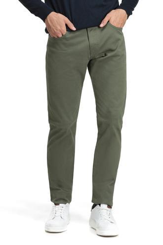 Ds Damat Slim Fit Haki Düz Chino Pantolon - 8681779476269 | D'S Damat