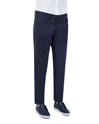 Ds Damat Slim Fit Lacivert Düz Chino Pantolon - 8681779521396 | D'S Damat