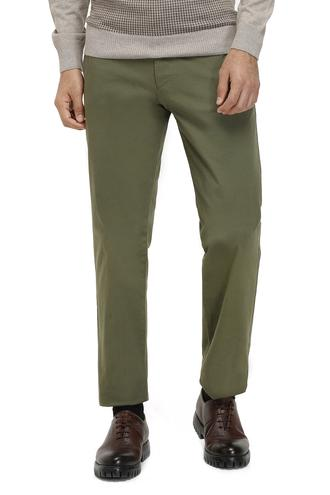 Ds Damat Slim Fit Haki Düz Pantolon - 8682060019899 | D'S Damat