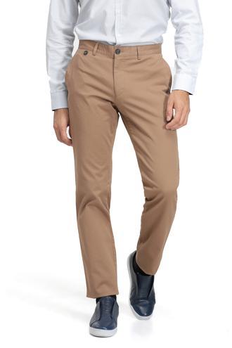 Ds Damat Slim Fit Camel Düz Chino Pantolon - 8682060020352 | D'S Damat