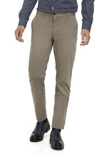 Ds Damat Slim Fit Bej Düz Pantolon - 8681779659464 | D'S Damat