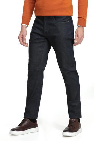 Ds Damat Slim Fit Lacivert Düz Denım Pantolon - 8681779478799 | D'S Damat