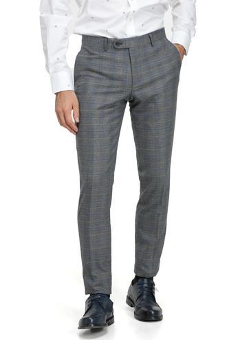 Ds Damat Slim Fit Gri Kumaş Pantolon - 8682060025586 | D'S Damat