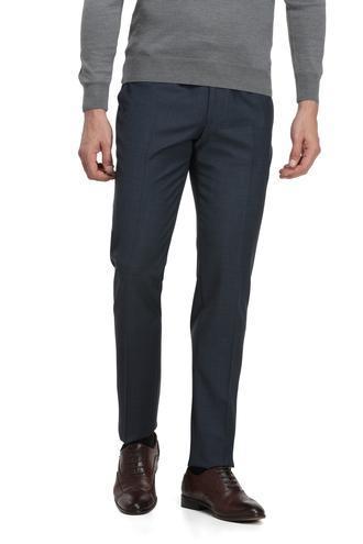 Ds Damat Slim Fit Lacivert Kaz Ayağı Pantolon - 8681779660767 | D'S Damat