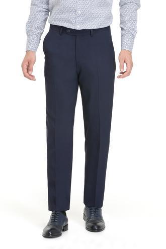 Ds Damat Slim Fit Lacivert Kaz Ayağı Pantolon - 8681779660859 | D'S Damat
