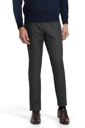 Ds Damat Slim Fit Lacivert Armürlü Pantolon - 8681779661405 | D'S Damat