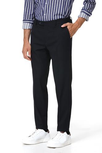 Ds Damat Slim Fit Lacivert Düz Pantolon - 8681779661498 | D'S Damat