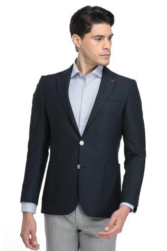 Ds Damat Slim Fit Lacivert Kumaş Ceket - 8682060579218 | D'S Damat