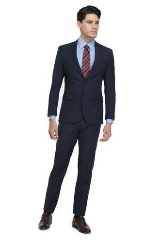Ds Damat Slim Fit Slim Fit Lacivert Ekoseli Takım Elbıse - 8681779723097 | D'S Damat