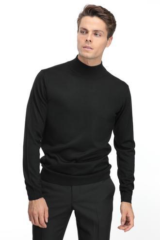 Ds Damat Regular Fit Siyah Kazak - 8681779609926 | D'S Damat