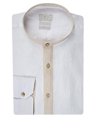 Twn Slim Fit Beyaz Düz Gömlek - 8681494319810 | D'S Damat