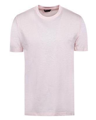Twn Slim Fit Pembe Düz T-shirt - 8681494205786   D'S Damat