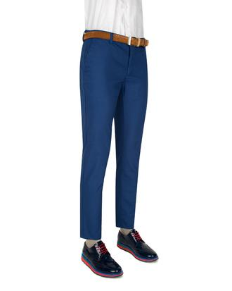 Twn Slim Fit Saks Mavi Chino Pantolon - 8681494247939 | D'S Damat