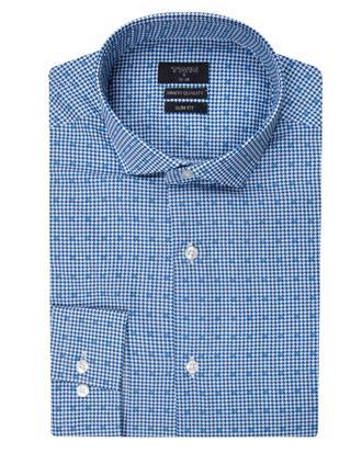 Twn Slim Fit Mavi Baskılı Gömlek - 8681494206301 | D'S Damat