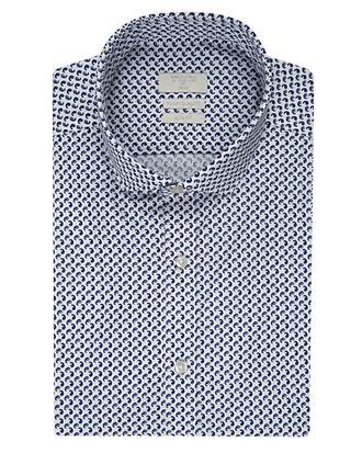 Twn Slim Fit Beyaz Baskılı Gömlek - 8681494299853 | D'S Damat