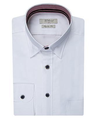 Ds Damat Regular Fit Beyaz Gömlek - 8681494295282 | D'S Damat