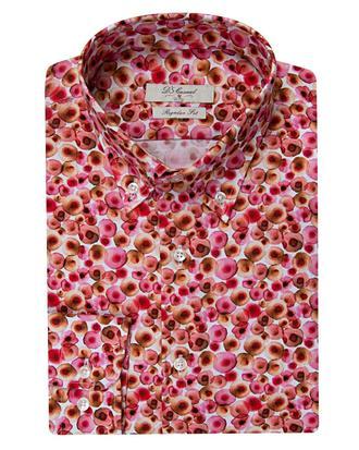 Ds Damat Regular Fit Karma Renk Baskılı Gömlek - 8681494295855 | D'S Damat