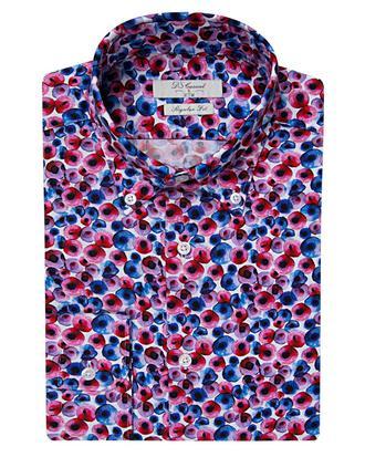 Ds Damat Regular Fit Karma Renk Baskılı Gömlek - 8681494296074 | D'S Damat