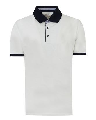 Ds Damat Regular Fit Beyaz T-shirt - 8681494273730 | D'S Damat