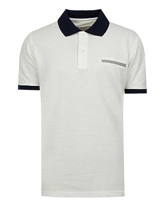 Ds Damat Regular Fit Beyaz T-shirt - 8681494472454 | D'S Damat