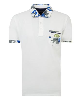 Ds Damat Regular Fit Beyaz T-shirt - 8681494370125 | D'S Damat