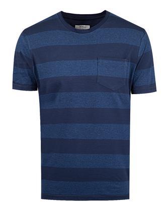 Ds Damat Regular Fit Lacivert Melanj T-shirt - 8681494369266 | D'S Damat