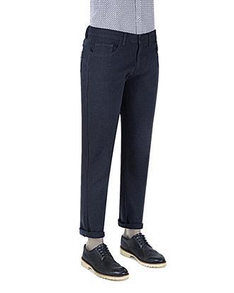 Twn Slim Fit Lacivert Chino Pantolon - 8681494667584 | D'S Damat