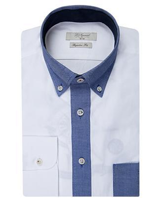 Ds Damat Regular Fit Beyaz Gömlek - 8681494930756   D'S Damat