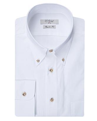 Ds Damat Regular Fit Beyaz Düz Gömlek - 8681494599298 | D'S Damat