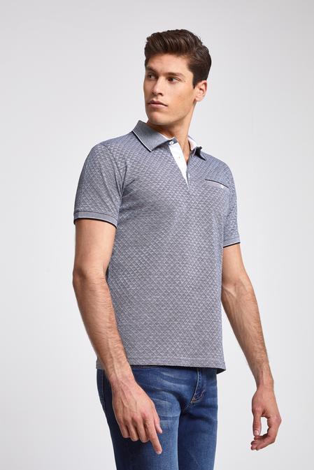 Ds Damat Regular Fit Lacivert Yok T-Shirt - 8682060089724 | D'S Damat