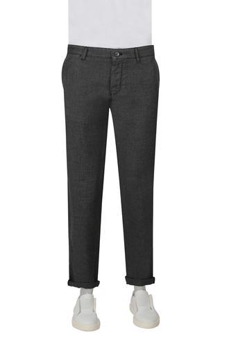 Twn Slim  Fit Siyah Yok Pantolon - 8682060504715 | D'S Damat