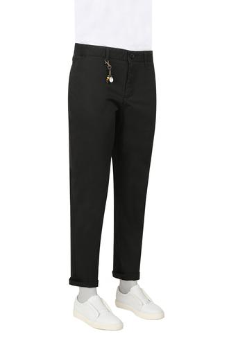 Twn Slim Fit Siyah Armürlü Chino Pantolon - 8682060504807 | D'S Damat