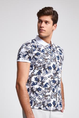 Ds Damat Slim Fit Beyaz T-Shirt - 8682060092236 | D'S Damat