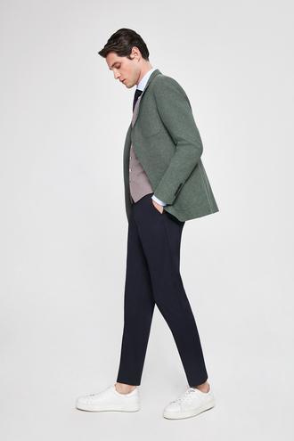 Twn Slim Fit Slim Fit Yeşil Armürlü Kombinli Takım Elbise - 8682060140296 | D'S Damat