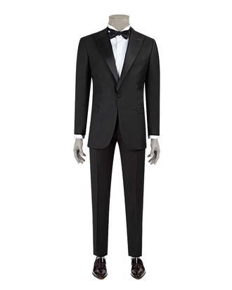 Ds Damat Slim Fit Slim Fit Siyah Düz Takim Elbise - 8682060622693 | D'S Damat